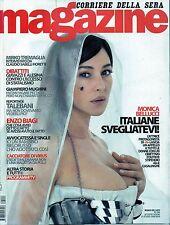 Magazine.Monica Bellucci,Mario Botta,Enzo Biagi,iii