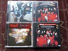 SLIPKNOT 4 CD Bundle Self Titled CD/DVD 10th Anniversary Digipak/Iowa/Vol 3 L/Ed