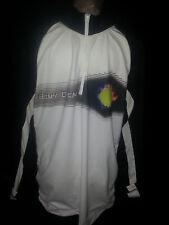Sony Open Tennis Tournament Mens Shirt Long Sleeve Sz Large Track White Black