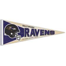 BALTIMORE RAVENS NFL Retro 1990s Style Premium Felt Collector's PENNANT