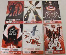 Marvel: New Avengers (2013) v3 #1-6 RUN