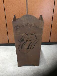 Feuertonne Feuerstelle Feuerkorb Rolling Stones Licks Fanartikel