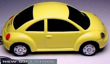 RARE!! KEY CHAIN YELLOW VW NEW BEETLE VOLKSWAGEN BUG VOLKSWAGON LIMITED EDITION
