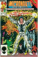 Micronauts Vol. 2 # 16 (Kelley Jones, Secret Wars II tie-in) (USA, 1986)