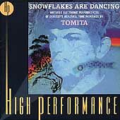 Tomita Snowflakes Are Dancing: Electronic Performances CD Tomita like new