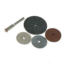 SMALL RESIN, FIBRE, DIAMOND AND CUTTING DISCS, SAW  5pce, PRECISION WORK , CRAFT
