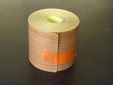 UN METRO de cinta tela de teflón de 50 mm x 0,25 mm teflon fabric tape