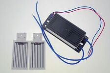 1PCS110V 7000mg/h Ceramic Plate&2*Circuit Board Ozone Generator Air Purifier Kit