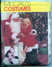 Santa Suit with Boots w Santa Doll Large Pattern Uncut