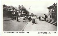 Isle of Wight Postcard - Old Sandown - The Promenade c1908  A4662