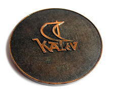 1981 USSR Soviet ESTONIAN Confectionery Company KALEV 175 Anniversary LOGO Medal