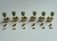 Gold 3L3R Deluxe Tuning Pegs Keys Guitar Tuners Machine Heads Fits LP Epiphone