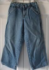 Greendog Boys Carpenter Adjustable Waist Cotton Denim Blue Jeans Size 6