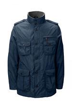 *LANDS END Men's Military Jacket Med Blue NWT