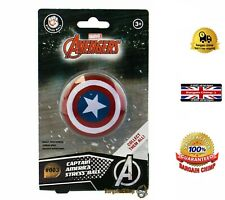 Marvel Avengers Captain America Stress Ball #003 Series 1 Ages 3+ COLLECTABLE