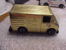 Hot Wheels Loose 20th Anniversary GOLD Delivery Truck with Malaysia Base