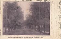 YORKVILLE SC – North Congress Street looking South – udb – 1907