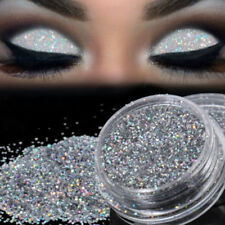Cosmetic Sparkly Makeup Glitter Loose Powder EyeShadow Silver Eye Shadow Pigment