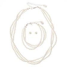 3 Piece Set Earrings Bracelet and Necklace