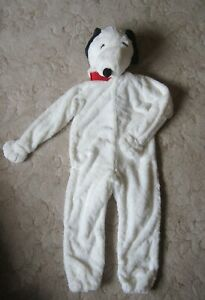 Pottery Barn Halloween Peanuts Snoopy dog Costume size 7-8 NWT 2-piece NEW