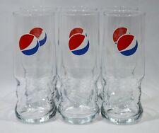 6 x Pepsi verre verres 0,3 L softdrinkglas Grand Logo gastronomique bar deco NEUF