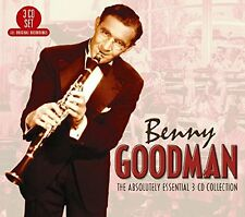 BENNY GOODMAN - THE ABSOLUTELY ESSENTIAL - NEW CD COMPILATION
