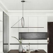 Modern LED Linear Pendant Light Hanging Suspension Chandelier Fixture 120cm