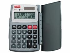 Staples 520 pocket calculator, Easy-to-read flat 10-digit display, Free P&P!