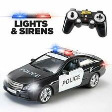 Prextex RC Police Car Remote Control Police Car RC Toys Radio Control Police Car