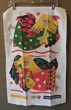 New listing Emma Bridgewater Angel Christmas Tea Towel Kitchen Dish Pat Albeck Vintage New