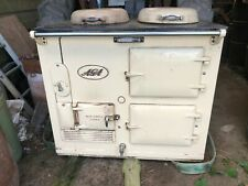 USED Solid Fuel Coal Aga cooker Cream COLLECTION ONLY