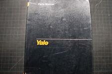 Yale MSW Mrw Gabelstapler Teile Manuell Buch Katalog Ersatz Liste Verzeichnis