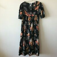 Hawaiian Mumu MTB Meant To Be Floral Hibiscus Women's Small S