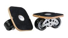AscotDrifting Wooden Inline Drift Skates With Black Wheels