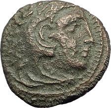 ALEXANDER III the GREAT 336BC Macedonia Ancient Greek Coin HERCULES CLUB i64362