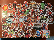 50 Pcs/Lot Stickers Marvel Avengers Super Hero Dc For Car Laptop Skatboard Decal