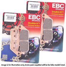 Kawasaki ZL 400 B Eliminator 400 SE 1988 EBC Sintered HH Front Brake Pad Set