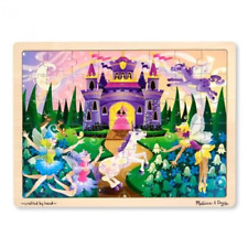 Fairy Fantasy Wooden Jigsaw Puzzle With Storage Tray (48 pcs)