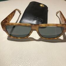 Versace Mod 372 COL 830 BD Medusa Sunglasses Brown 1990's From Japan