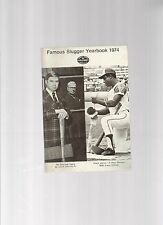 Original   1974   Louisville Slugger Famous Slugger Yearbook