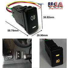 38.82mm OE Style 4-Pole 12V Push Button Switch w/ LED Indicator Light for Toyota