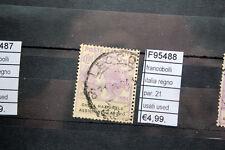 FRANCOBOLLI ITALIA REGNO PAR.21 USED USATI (F95488)