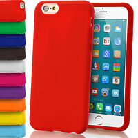 Soft Silicone Protective Case Gel Rubber Cover for Apple iPhone 4s 5/5s 6s Plus