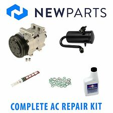 Ford Bronco 1990-1993 Complete AC A/C Repair Kit With New Compressor and Clutch
