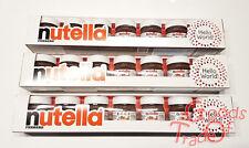 NUTELLA / Hello World Weekly / 7x - 30g / Limitiert / Italienisch / NEU & OVP