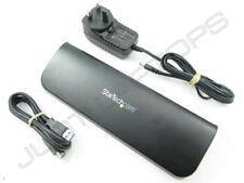 StarTech USB 3.0 Dual Video HDMI DVI VGA Docking Station for Sony Vaio Notebooks