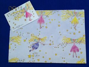 Phoenix Trading Giftwrap Paper and Matching Tag. Girl's Birthday. £2.45 inc p&p