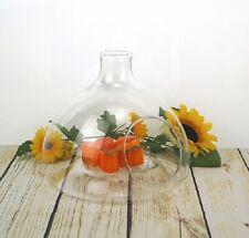 Glass bottle shape Terrarium vase lantern planter tea light holder Handmade