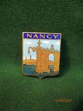 Insigne, broche de  NANCY