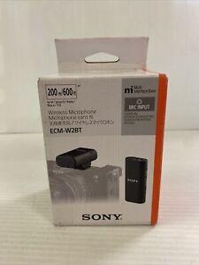 Sony - Digital Bluetooth Wireless Microphone ECM-W2BT New in Box